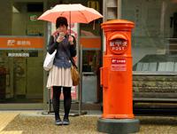 「美保関は雨です」のおさん(島根県)