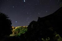「美保神社,冬の夜空」野島幹(島根県)