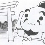 えびすくん(美保神社)